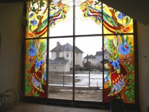 витражные окна